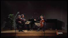 """Dal CD+DVD Limen music """"Dressed ... to play"""" Danilo Rossi, viola - Mario Brunello, cello - Andrea Lucchesini, piano"""
