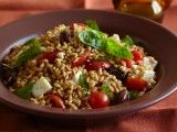 Cooking Channel serves up this Caprese Di Farro recipe from Debi Mazar and Gabriele Corcos plus many other recipes at CookingChannelTV.com