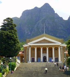 Jameson Hall, University of Cape Town, Cape Town #UCT (pic Rod Bally)