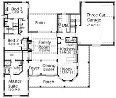 House Plans by Korel Home Designs, Love the layout of this plan.