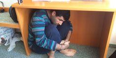 Karim El-Gawhary über einen Flüchtling, der jetzt in Großraming auf Asyl wartet