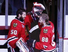 HAWKS WIN!  (Crawford & Kane) June 22, 2013 - Game Five