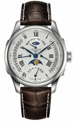 @longineswatches Master Collection Mens #bezel-fixed #bracelet-strap-alligator #case-depth-16-1mm #case-material-steel #case-width-41mm #chronograph-yes #date-yes #day-night-yes #day-yes #delivery-timescale-1-2-weeks #dial-colour-silver #gender-mens #gmt-yes #l27384713 #luxury #moon-phase-yes #movement-automatic #official-stockist-for-longines-watches #packaging-longines-watch-packaging #subcat-longines-gmt #subcat-master-collection #supplier-model-no-l2-738-4-71-3 #warranty-lo...