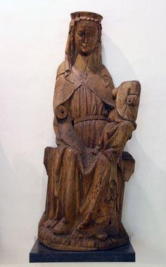 Virgen románica, S. XIII, Brons, Southern Jutland. Dinamarca