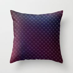 When The Night Falls Throw Pillow by Galaxy Eyes - $20.00