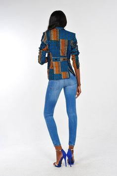 African Print Blazer by Bongolicious1 on Etsy, $59.99