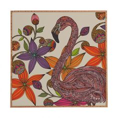 Valentina Ramos The Flamingo Framed Wall Art | DENY Designs Home Accessories