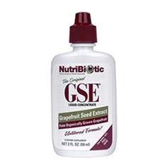 Grapefruit seed extract nasal rinse