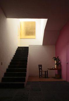 watari-um - exhibition - ルイス・バラガン展 ,A visit to Luis Barragan House →階段のシンプルさはこれに近い