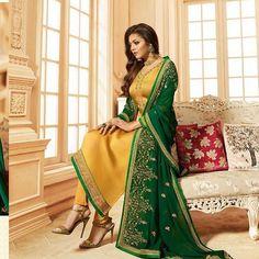 Pakistani Dress Design, Pakistani Dresses, Indian Dresses, Pakistani Gharara, Indian Suits, Pakistani Mehndi, Straight Wedding Dresses, Straight Dress, Straight Cut