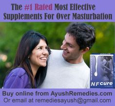 Herbal Supplement for Over Masturbation