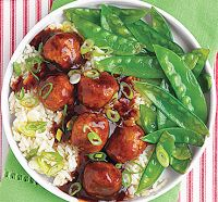 Asian-inspired Slow-cooker Meatballs