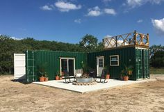 Custom shipping container home