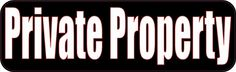 x Private Property Business Decal Store Sign Decals Sticker Stickers Learning To Drive, Private Property, Branding Materials, In Case Of Emergency, White Letters, Photo Magnets, Store Signs, Bumper Stickers, Black Backgrounds