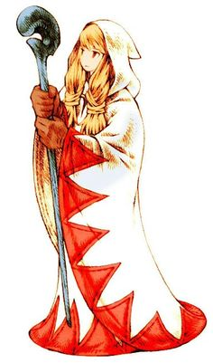 White mage!! I'm thinking of cosplaying this!!!