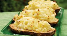 BBQ GRILLING #BBQ #Grilling Twice-Cooked Potatoes with Wasabi
