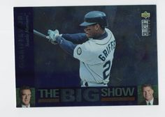 2bed967616 Items similar to Ken Griffey Jr. 1997 Upper Deck Collector's Choice The Big  Show foil insert on Etsy