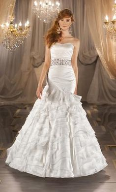Martina Liana 396 10: buy this dress for a fraction of the salon price on PreOwnedWeddingDresses.com