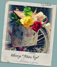 ENTRELAZOS, de tela y amistad.: PIÑON FIJO, Alforjas Cycle Saddle Bag, Saddle Bags, Bike Bag, Tela, Fixed Gear, Riding Bikes, Friendship