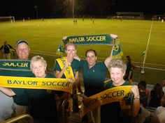 Baylor Soccer Scarves by SportsScarf!  The perfect fundraiser for soccer teams!   Create your own custom soccer scarves with SportsScarf today!