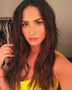 Demi Lovato's selfie
