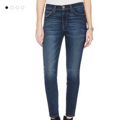 """Current/Elliott stiletto townie jean size 28 Very gently worn. In great condition. Inseam is 27"""". High Rise. Good everyday jean. Med color wash. Size 28. Called """"the stiletto townie"""". No trades please. Current/Elliott Jeans Skinny"""