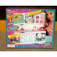 Kitchen Littles Deluxe Center With Real Working Features Toys