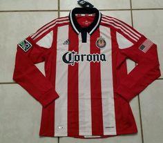 NWT ADIDAS C.D. Chivas USA Long Sleeve Soccer Jersey Men's Large  #adidas #CDChivasUSA
