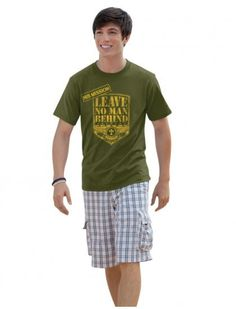 All sizes No Man Left Behind T-Shirt - JTbliss