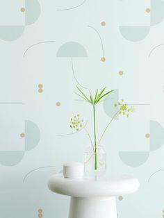 Jaime Hayon | Jaime Hayon Tiles Green di Eco Wallpaper | Architonic