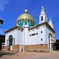 Kirche Am Steinhof, Vienna. Austria | Kirche am Steinhof (Church of St. Leopold) designed by Otto Wagner # ...