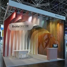 KriskaDecor: Cool Curtains for hot places- Decorative chain curtains for architecture and interior design in Hospitality design, retail design.