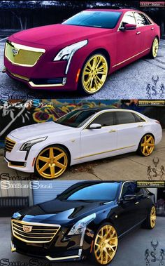 Cadillac Sedan Cars You Should Check Out Now Luxury Sports Cars, Top Luxury Cars, Exotic Sports Cars, Cool Sports Cars, Sport Cars, Lamborghini Gallardo, Pimped Out Cars, Aston Martin, Carros Audi