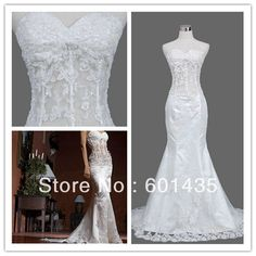 WR2151 Newest Latest Designs See Through Corset Sweet Heart Vintage Lace Mermaid Wedding Dress on AliExpress.com. 15% off $161.49