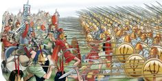 Romans vs. Macedonians, 197 BC.