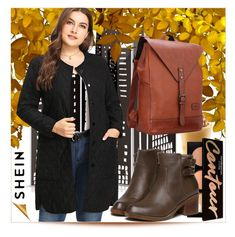 Go Bold: Statement Coats by azra-v on Polyvore featuring moda, Boots, bag and coat