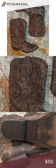 мαтιѕѕє - Coconuts Western Boots Like new!  ☞ ℓσωєѕт?  Prices are firm unless offer is reasonable  Bundle option is available!  ☞ мσ∂єℓ? I do not model my items, sorry! Comment with specific measurement requests Please allow 2-3 days for request fulfillments!  ☞ яєѕєяνє? тяα∂є?  I do not reserve or trade items!  Other questions welcome! ☺️ Matisse Shoes Ankle Boots & Booties