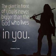 If God is before us who can be against us?