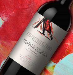 #packaging #Design #Wines #GraphicDesign #Design #Label #NewProject #TiemposDeCosecha