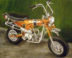 Honda CT-70 Painting