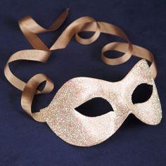 Stellare White masquerade mask /req37430. $49.00, via Etsy.