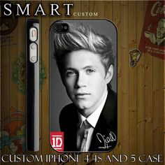 Nial Horan One Direction 1D Custom For Iphone 4,4s And Also Available... ($17) ❤ liked on Polyvore