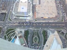 Picture was taken on top of Mamlaka tower in Riyadh - KSA , its even prettier at night