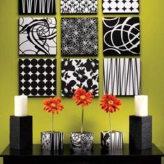 Black And White Painting Ideas Black And White Living Room Design