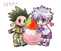 Killua and Gon ^.^