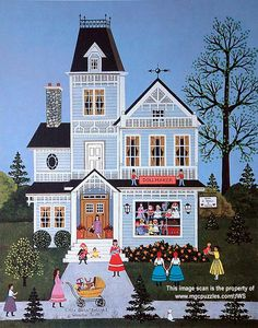 Little Girl's Delight by Jane Wooster Scott ~ children ~ girls ~ dolls