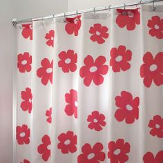 Go Retro Chic In Your Next Bathroom Decor With Bright Colored Flowers Just Pop Off This