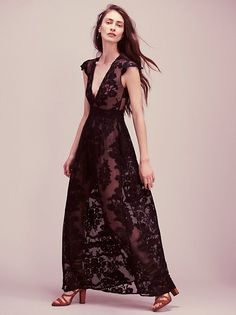 For Love & Lemons Lace Maxi at Free People Clothing Boutique