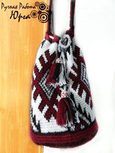 TC1 (336x448, 99Kb) Crochet Bag Tutorials, Tapestry Crochet Patterns, Boho Bags, Columbia, Filet Crochet, Cross Stitch Embroidery, Women's Accessories, Bucket Bag, Purses