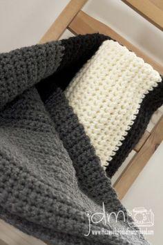 My husband would love this. Super easy fast beginner chunky crochet blanket001 http://www.thesweetersideofmommyhood.com/blog/art/2013/04/chunky-crochet-blanket/